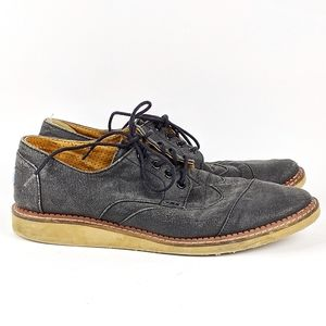 Toms | Gray Lace Up Sneaker